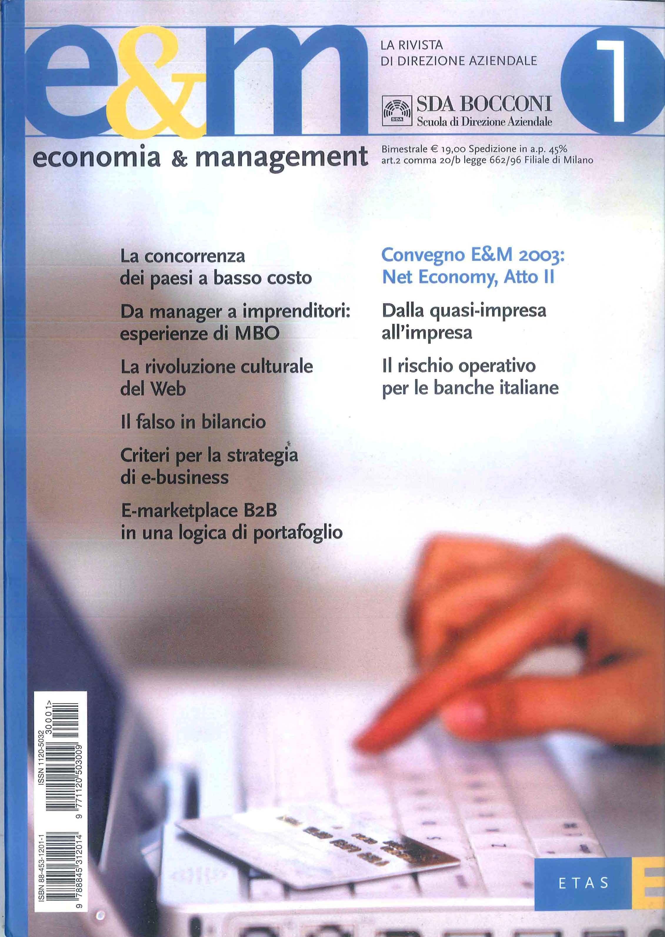 E&M - 2003/1